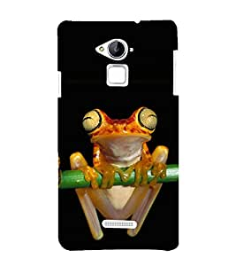 printtech Nature Reptile Frog Back Case Cover for Coolpad Note 3 Lite Dual SIM with dual-SIM card slots