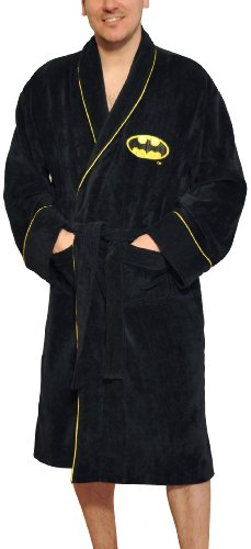 DC Comics Batman Bathrobe, Black