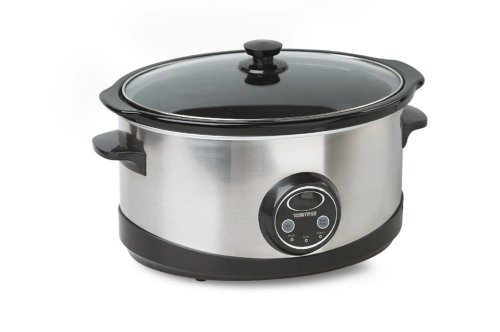 Digital Slow Cookers: Toastess TSC-310 Elegance 6-1/2-Quart Programmable Slow Cooker