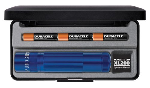 Maglite Led Xl200 3Cell Flashlight - Blue - In Presentation Box