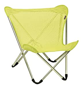 Lafuma micro pop up chair lime tube alu brut - Chaise pliante lafuma ...