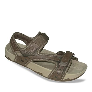 Earth Womens Sport Sandals Size 5 M 103019WGRD36 Exerstrap Powder Khaki Leather