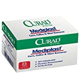 Curad Mediplast Corn, Callus & Wart Remover, 2 pads