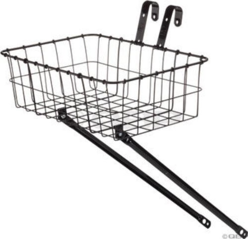 Wald 137 Front Bicycle Basket (15 X 10 X 4.75, Black) front-335529