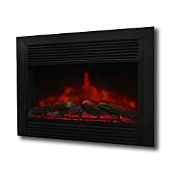 "XtremepowerUS 28.5"" 1500W 5200BTU Embedded Electric Fireplace Insert Heater W/Remote Control from XtremepowerUS"