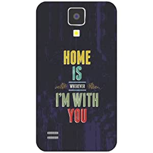 Samsung Galaxy S4 home Phone Cover - Matte Finish Phone Cover
