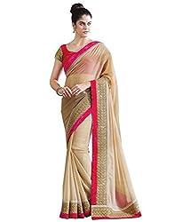 Shree fashion women's Top Fabrics semi stitched grey GEORGETTE saree