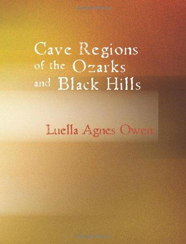Höhle Regionen Ozarks und Black Hills