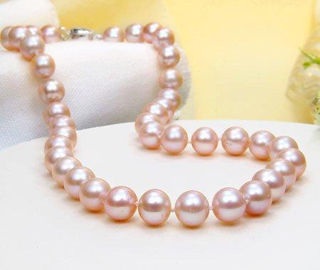 Classic Swarovski Crystal Pearl Necklace - 17