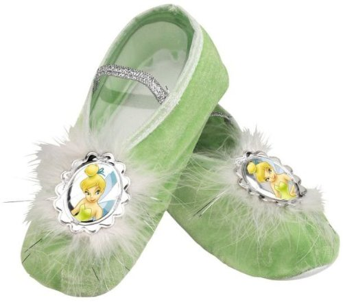 Tinker Bell Ballet Slippers,One Size Child
