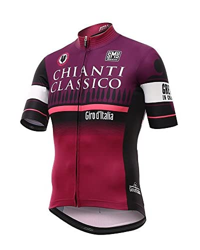 Santini Maillot Ciclismo Giro d'Italia 2016 Stage 9 Chianti Magenta