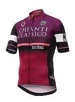 Santini Maillot Ciclismo Giro d'Italia 2016 Stage 9 Chianti (Magenta)