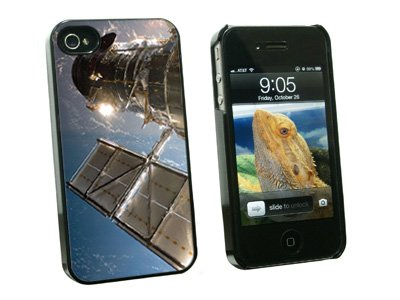 Graphics And More Hubble Telescope - Astronomy Space - Snap On Hard Protective Case For Apple Iphone 4 4S - Black - Carrying Case - Non-Retail Packaging - Black