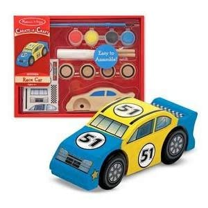 Melissa & Doug Decorate-Your-Own Race Car