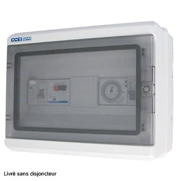 S ccei pa pa 20 panorama coffret electrique pour filtration jardin filtration jardin m303 - Coffret electrique exterieur jardin ...
