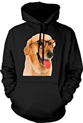 Hoody Labrador With Glasses - Funny from Black Sheep Clothing
