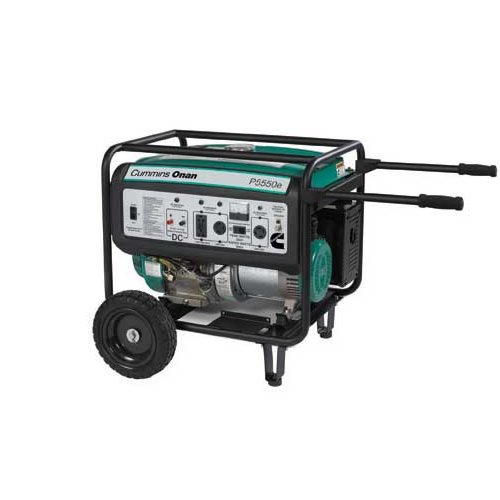 Best Price On Cummins Onan 5500 Watt Portable Generator W Electric