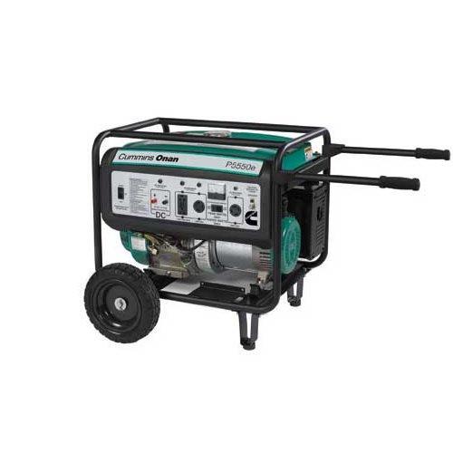 Cummins Onan 5500 Watt Portable Generator w/Electric Start