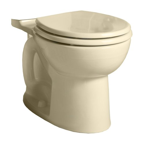 American Standard 3717D001.021 Cadet 3 Flowise Round Front Toilet Bowl Only In Bone front-758871