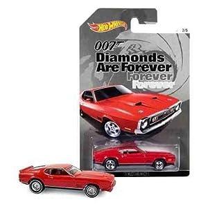 Hot Wheels James Bond Diamonds Are Forever 1971 Mustang Mach 1 Diecast Car
