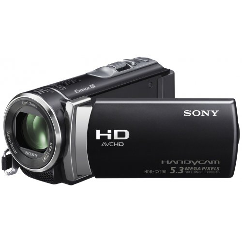 Comparer SONY HANDYCAM HDRCX190 NOIR 5MPIXELS  
