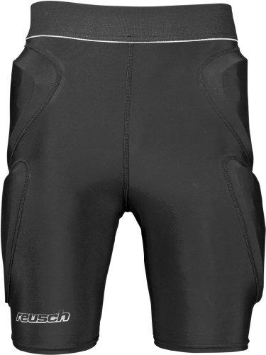 Reusch adulti Sottopantaloni CS Pantaloncini Padded, Unisex, Unterziehhose CS Shorts Padded, nero, XL