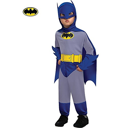 Classic Blue and Grey Batman Costume for Toddlers