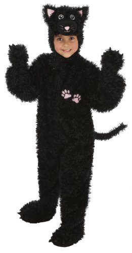 Just Pretend Kids Black Cat Animal Costume, Large