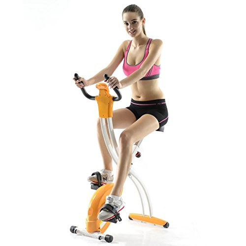 Fitleader Upright Folding Gym Cycle (Indoor Upright Stationary compare prices)