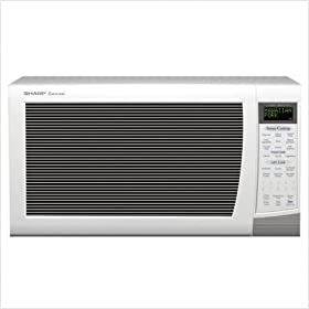 "Sharp 2.0 cu.ft. 1200 Watt Microwave - R-530EWT (White) (13.375""H x 24""W x 19.125""D)"