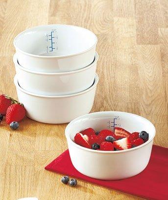 Set Of 4 Portion-Control Bowls