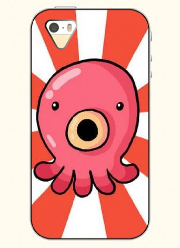 Oofit Phone Case Design With The Debut Of Octopus For Apple Iphone 4 4S 4G front-412229