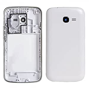 TOTTA Replacement Housing Back Body panel for Samsung Galaxy Star S7262 Duos with dual-SIM -White