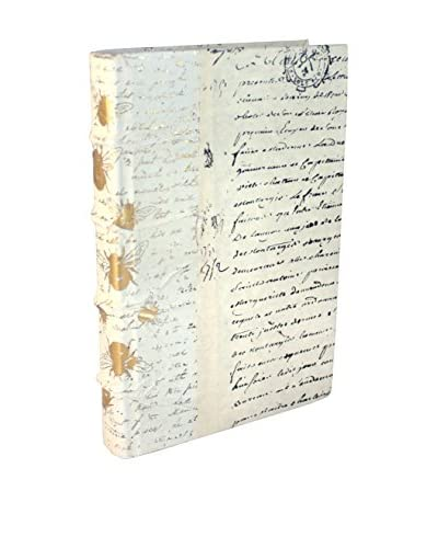 Go Home Bumble Bee Gold Leaf Book, Gold/Ivory
