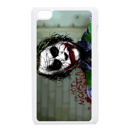 Personalized Durable Cases Ipod Touch 4 White Phone Case Snwlq Joker Heath Ledger Protection Cover