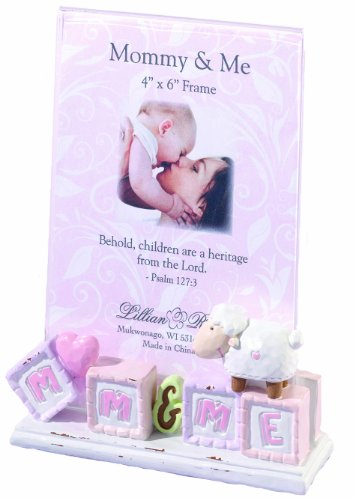 "Lillian Rose Mommy and Me Picture Frame, Little Lamb, 4"" x 6"""