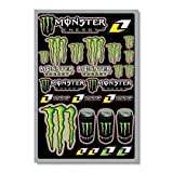 Planche 26 Autocollants Stickers Monster Energy One Industries 45x30