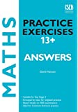 Maths Practice Exercises 13+ Answer Book: Practice Exercises for Common Entrance preparation