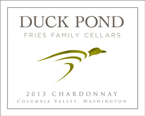 2013 Duck Pond Cellars Chardonnay, Columbia Valley Desert Wind Vineyard 750Ml
