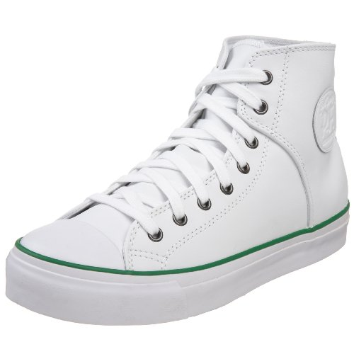 PF Flyers Cousy High Sneaker,White,Men's 7 M/Women's 8.5 M