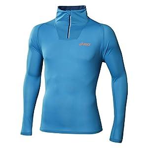 Asics Mile Half Zip Manches Longues T-shirt Course à Pied - M