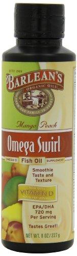 Barlean'S Mango Peach Fish Oil Swirl, 8-Ounce front-462238