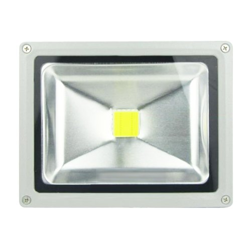 Generic 20W Ac 110~240V 120 Degree Led Flood Lamp With Multiple Emiting Colors Size 6.9X5.7X4.4 Color Yellow