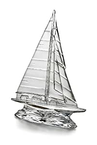 Waterford Tall Clear Sailboat