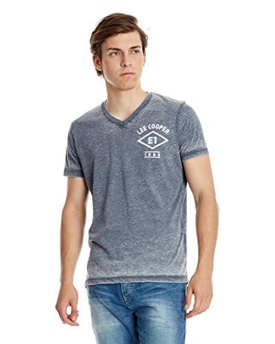 Lee Cooper T-Shirt Manica Corta [Blu Scuro]