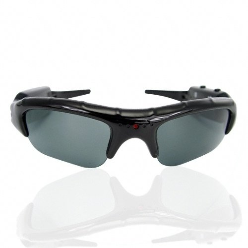 Cheap-UK-Gadgets - Spy Camera Sunglasses with Hidden Camera Voice/Video Recorder - Fashion Sunglasses, Sports Camera, Spy cam, Spyware, Spy camera Gadget - Capable of producing HD Recordings... FREE 8gb MicroSD Card