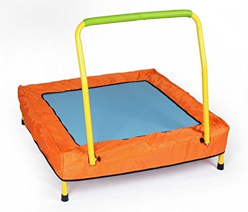 Kids-Folding-Trampoline-with-Handle-Bar-and-Carrying-CaseBest-Christmas-Gift