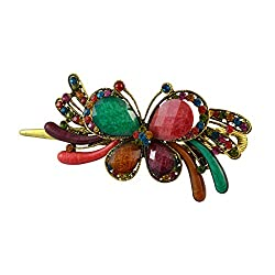 Sarah Butterfly Design Multi-Colour Hair Clip for Women
