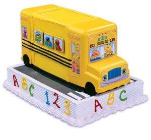 Amazon.com: Sesame Street School Bus Cake Kit: Childrens Cake