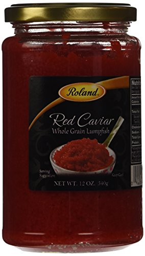 12 OZ RED LUMPFISH CAVIAR (Canned Fish Roe compare prices)